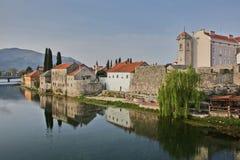 Stad av Trebinje Royaltyfri Bild