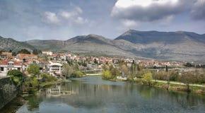 Stad av Trebinje Arkivbild