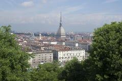Stad av Turin, Italien Fotografering för Bildbyråer