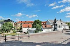 Stad av Uppsala royaltyfri fotografi