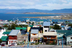 Stad av Ushuaia Royaltyfri Foto