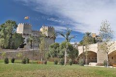 Stad av Valencia, Spanien Arkivbild
