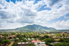 Stad av Voi panorama, Kenya Royaltyfria Foton