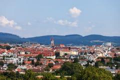 Stad av Wien Cityscape i Österrike Arkivfoton