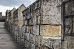 Stad av York väggar (UK) Fotografering för Bildbyråer