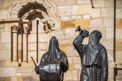 Stad av Zamora Spanien royaltyfria bilder