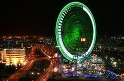 Stad bij nacht Royalty-vrije Stock Foto's
