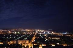 Stad bij nacht Royalty-vrije Stock Fotografie