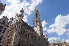 Stad Brussel België Stock Afbeelding