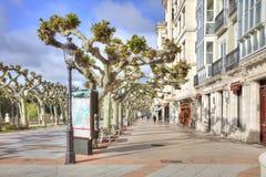 Stad Burgos invallning Royaltyfri Bild