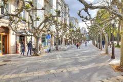 Stad Burgos invallning Arkivbild