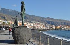 Stad Candelaria in de Canarische Eilanden van Tenerife Royalty-vrije Stock Foto's