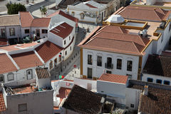 Stad Castro Marim, Portugal Stock Fotografie