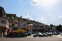 Stad-centrum van Tbilisi Royalty-vrije Stock Afbeeldingen