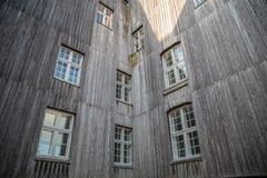 Stad Christiansfeld f?r v?rldsarv arkivfoton