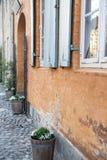 Stad Christiansfeld f?r v?rldsarv arkivbilder