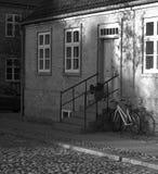 Stad Christiansfeld f?r v?rldsarv royaltyfri foto