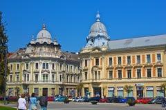 Stad cluj-Napoca Royalty-vrije Stock Foto's