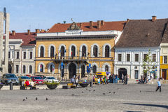 Stad cluj-Napoca Stock Afbeeldingen