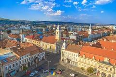 Stad cluj-Napoca royalty-vrije stock afbeelding