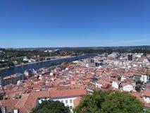 Stad Coimbra royaltyfria foton