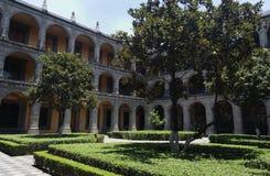 stad colegio de ildefonso mexico san Arkivbilder