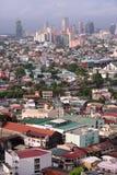 stad congested makatimanila horisont Arkivbilder