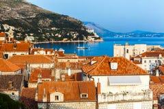stad croatia dubrovnik Arkivbild