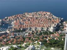 stad croatia gammala dubrovnik Royaltyfria Bilder