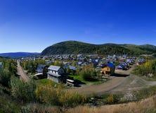 De Stad van Dawson stock afbeeldingen
