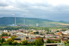 Stad in de Tsjechische Republiek Royalty-vrije Stock Foto
