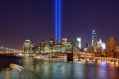 Stad de van de binnenstad van New York Royalty-vrije Stock Foto's