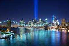 Stad de van de binnenstad van New York Royalty-vrije Stock Afbeelding