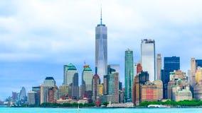 Stad de van de binnenstad van New York Stock Foto