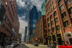 Stad de van de binnenstad van Toronto Stock Afbeelding