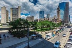 Stad de van de binnenstad van Toronto Stock Fotografie