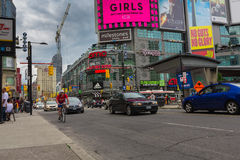 Stad de van de binnenstad van Toronto Royalty-vrije Stock Foto