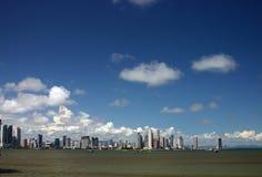 Stad door de baai Stock Afbeelding