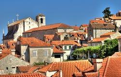 Stad Dubrovnik Royalty-vrije Stock Foto