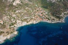 Stad-Elba van Chiessi eiland Royalty-vrije Stock Afbeeldingen