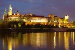 stad Europa krakow poland Royaltyfri Fotografi