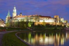 stad Europa krakow poland Arkivfoto