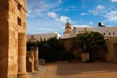 Stad för El Djem arkivfoto