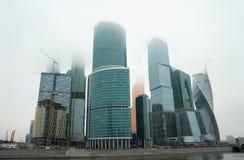 Stad för Moskva för Moskvaaffärscent Fotografering för Bildbyråer