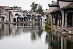Stad för Nanxun områdesvatten Royaltyfri Bild