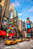 Stad för Ne York, Times Square, USA Arkivfoto