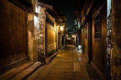 Stad för Wuzhen områdesvatten Royaltyfria Bilder