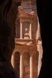 stad förlorad nabateanspetra Fotografering för Bildbyråer