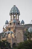 stad förlorad slott Arkivbild