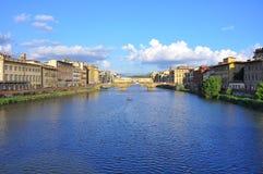 stad florence italy Royaltyfri Foto